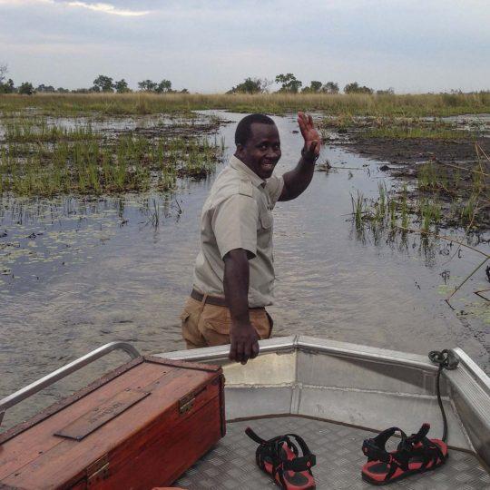 Door de Okavango Delta