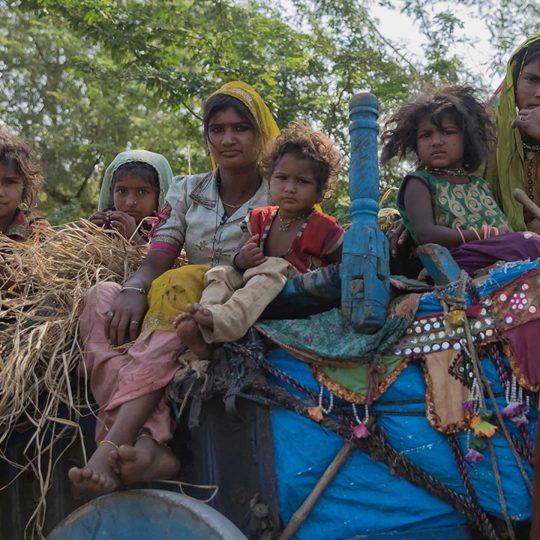 Boerenfamilie India