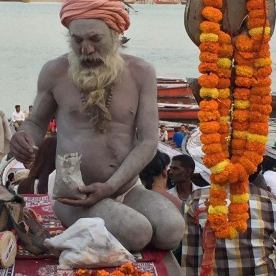 Saddhu in Varanasi
