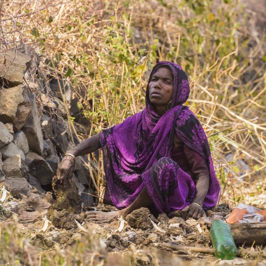 Vrouw in Madhya Pradesh