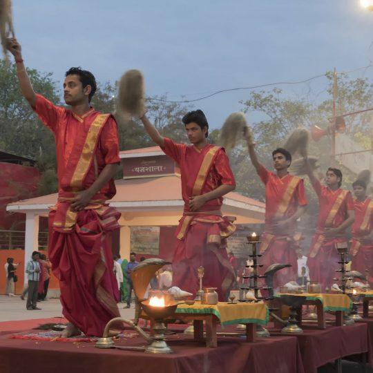 Ceremonie in Varanasi