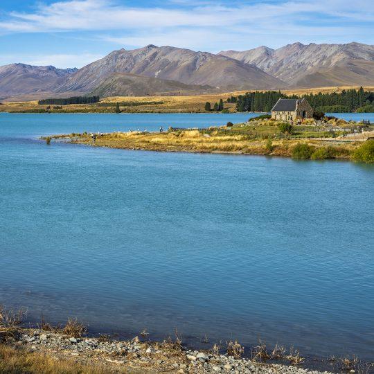 Beroemde Church of the Good Shepherd – Lake Tekapo,NZ